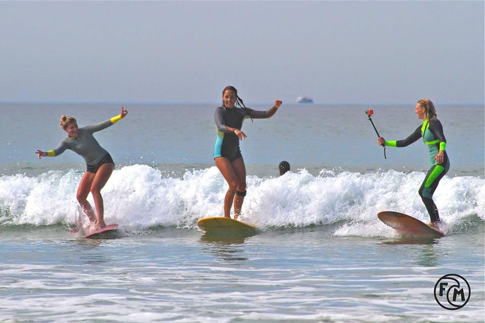 Surfer en septembre à Hossegor