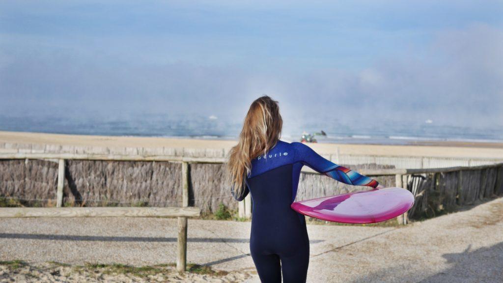 Doudoune unisexe Chipiron Hossegor - surf session