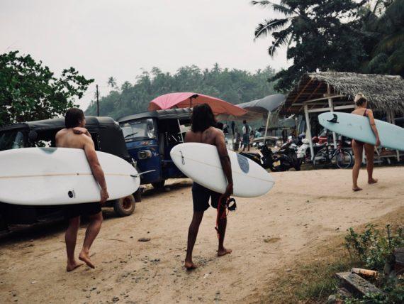 Chipiron family au Sri Lanka Hiriketiya