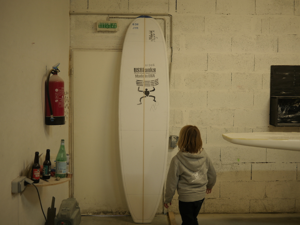 surf shape Hossegor Chipiron