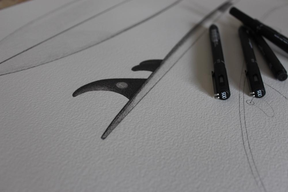 Collab Chipiron x Yann Hubert Ink